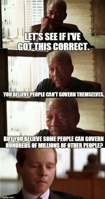 Paradojas de la política
